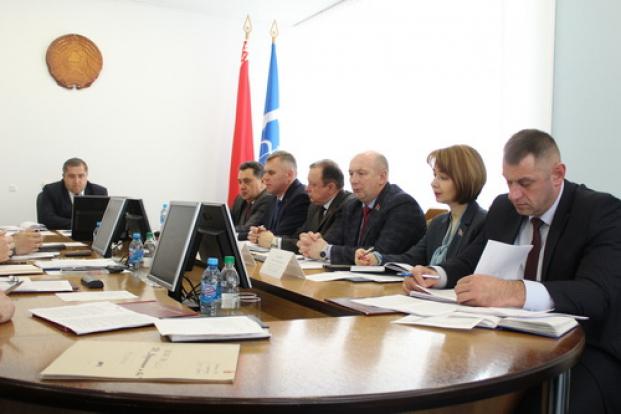 Участие в заседании администрации Московского района г.Бреста
