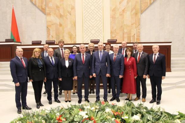 Депутаты Брестской области с руководством Палаты представителей